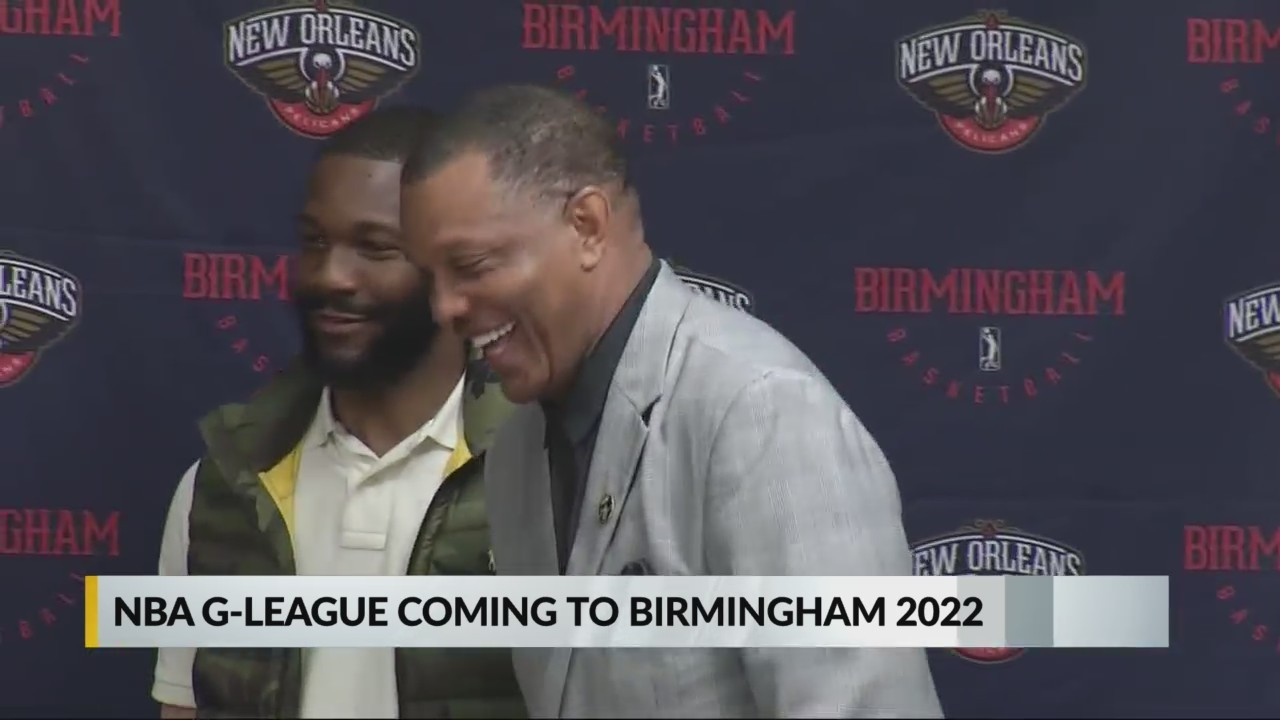 G League coming to Birmingham