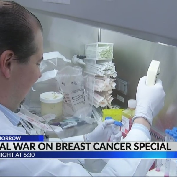 Local war on breast cancer special coming up