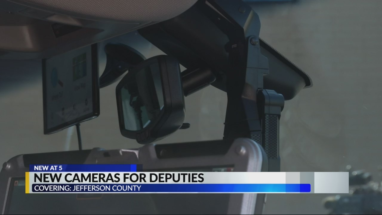 New cameras for Jeff co. deputies