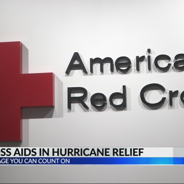 Red Cross aid in hurricane relief