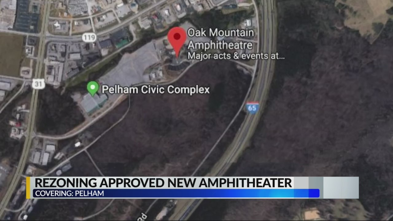 Rezoning plan approved for new ampitheater