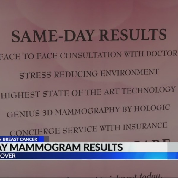 Same day mammogram results