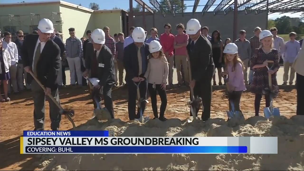 Sipsey Valley MS groundbreaking