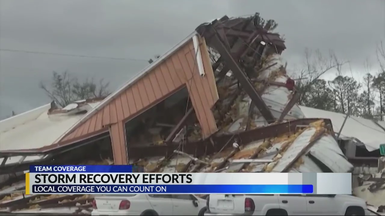Storm recovery efforts in Panama City
