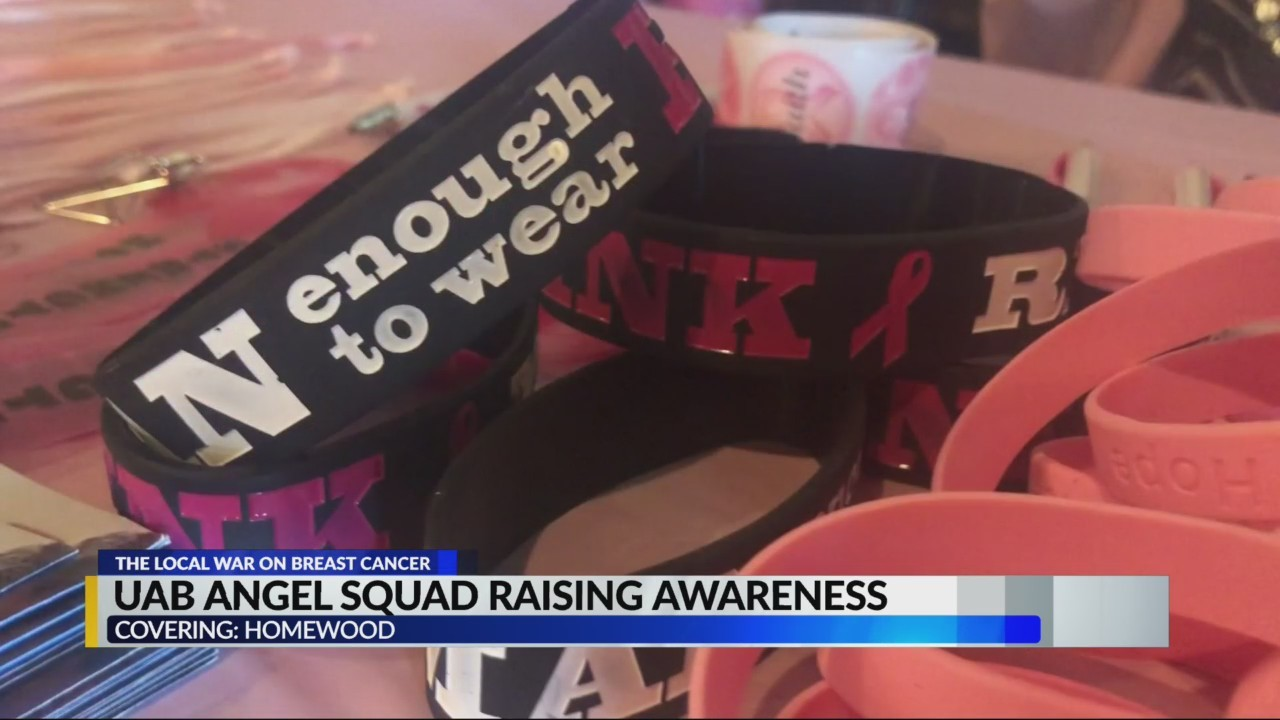 UAB angel squad raising awareness