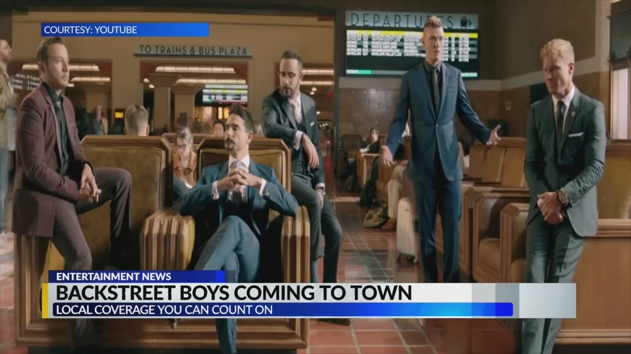 Backstreet Boys coming to Birmingham