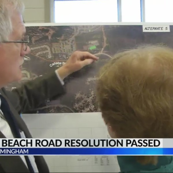 Cahaba Beach Road resolution passsed