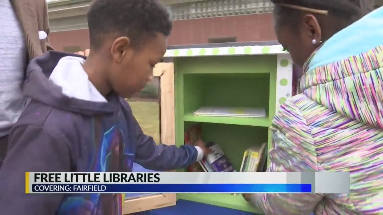 Free Little Libraries in Fairfield