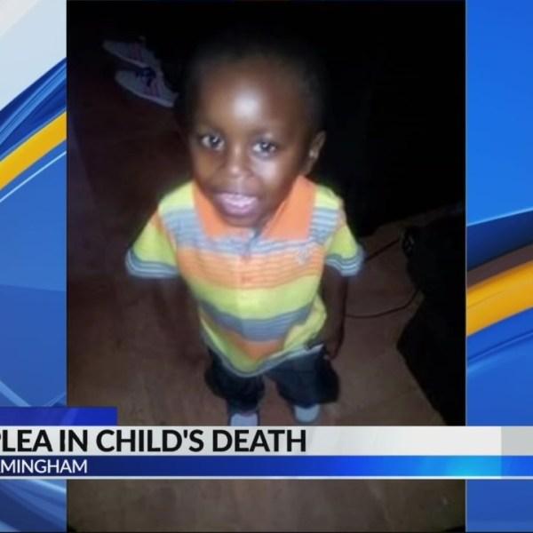 Guilty plea in child's death
