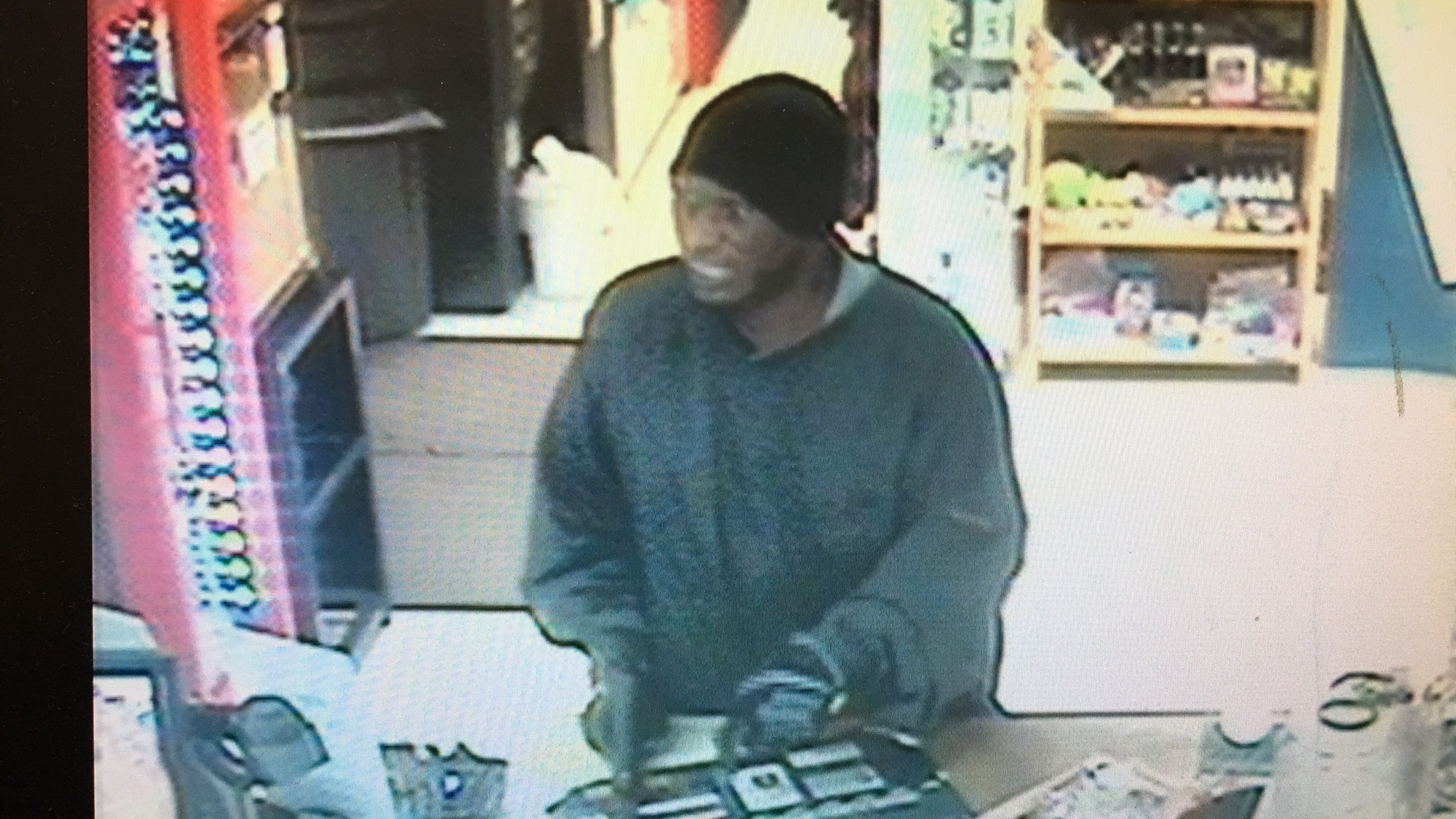 Robbery suspect in Carbon Hill