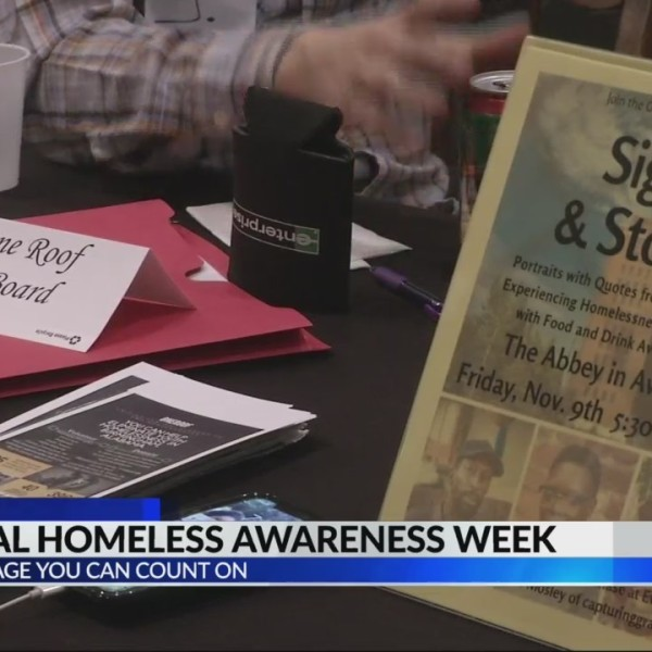 National Homelessness Awareness Week