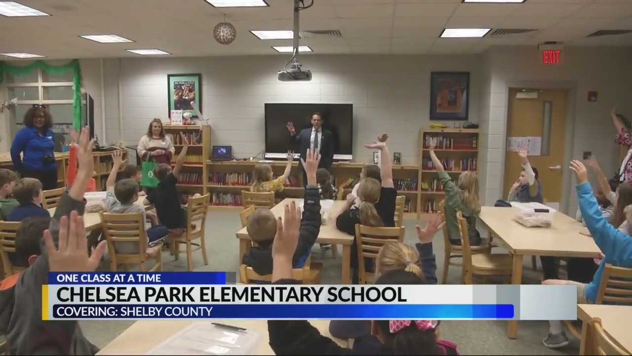 One Class at a time: Chelsea Park Elem. School