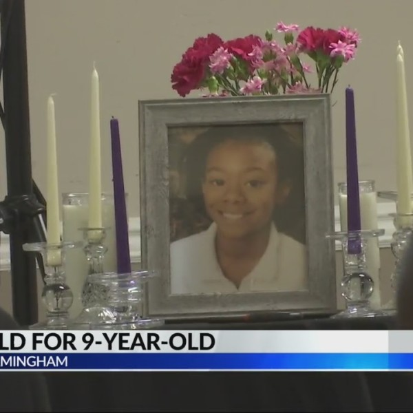 Vigil for 9-year-old girl