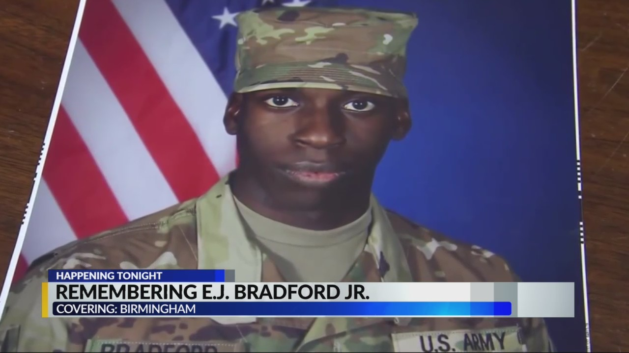 Vigil held for Emantic Bradford Jr.