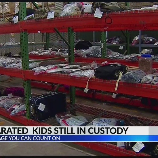 more than 100 separated kids still in custody