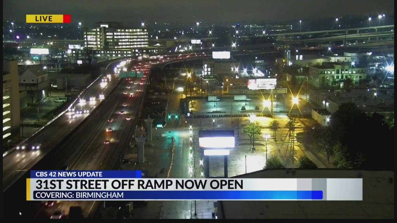 31st Street off ramp now open