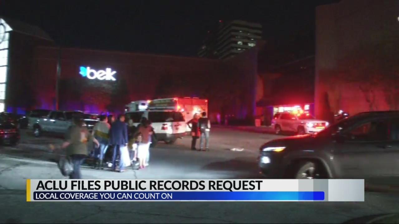 ACLU files public records request