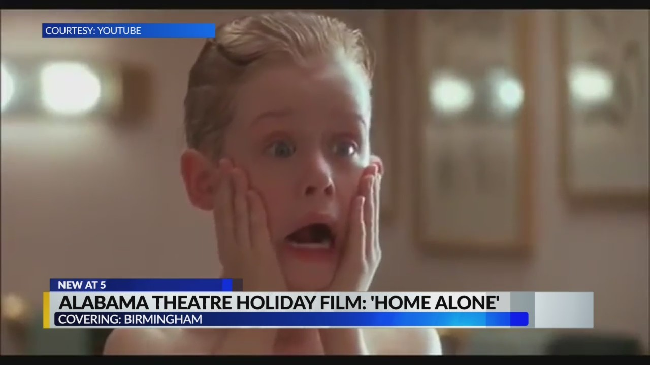 Alabama theatre holiday film: Home Alone