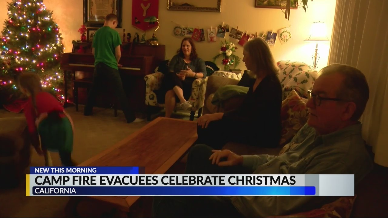 Camp Fire victims celebrate despite circumstances