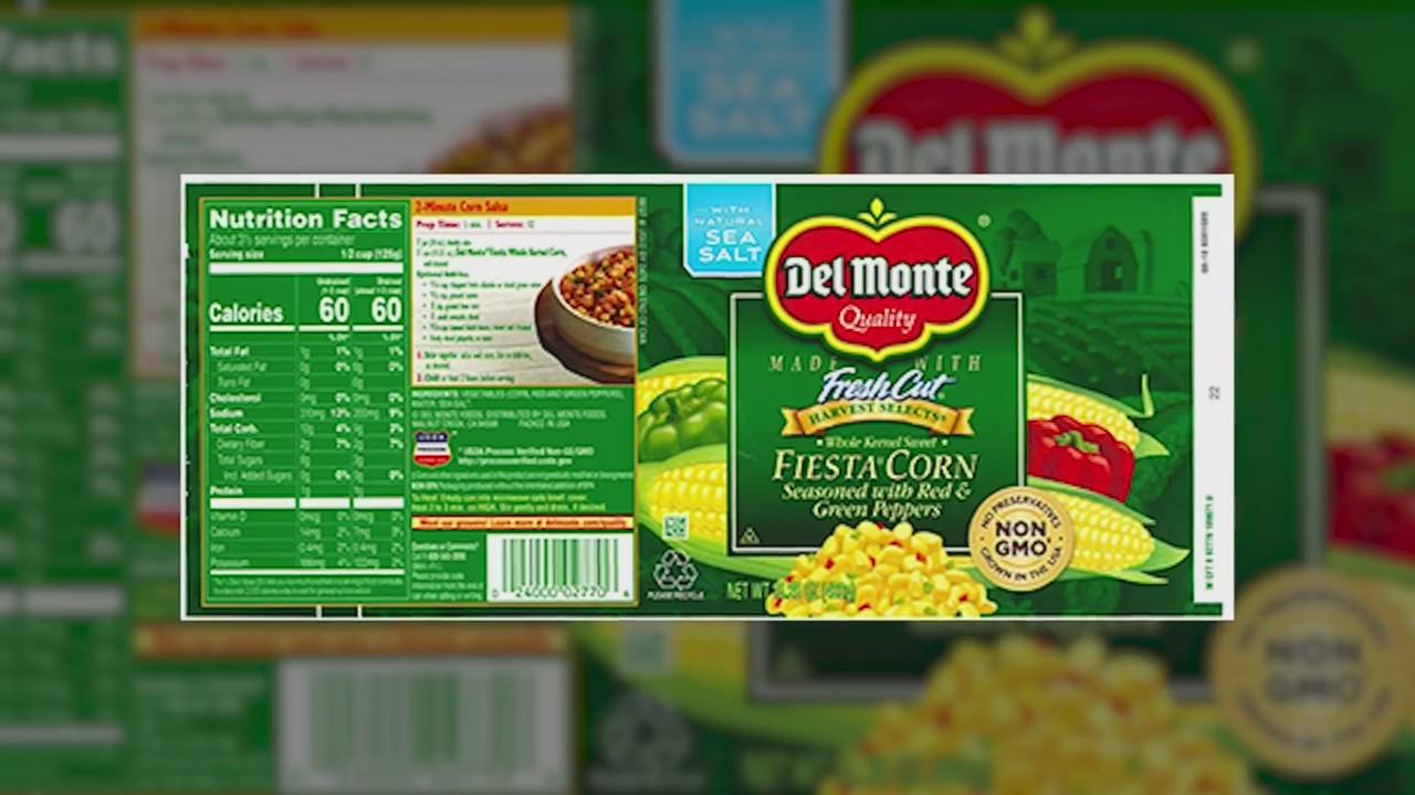Del Monte Fiesta Corn Recall