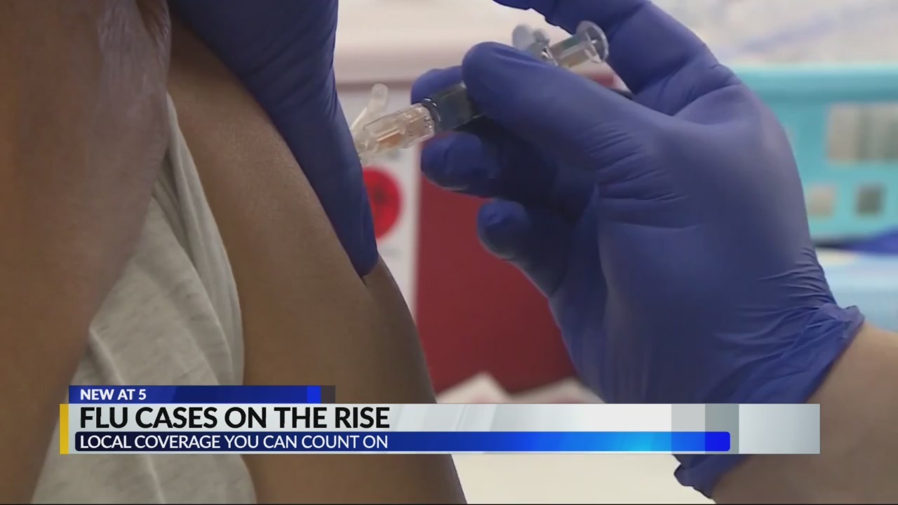 Flu cases on the rise in Alabama