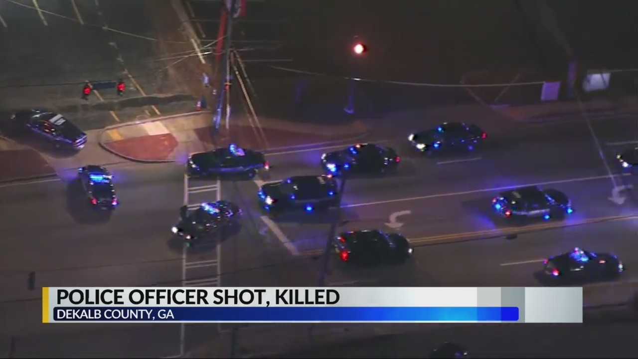 Georgia officer killed after traffic stop