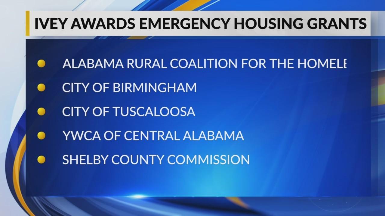 Gov. Kay Ivey awards grants for emergency housing