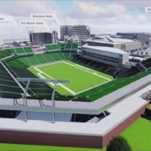 Groundbreaking for new stadium in Birmingham