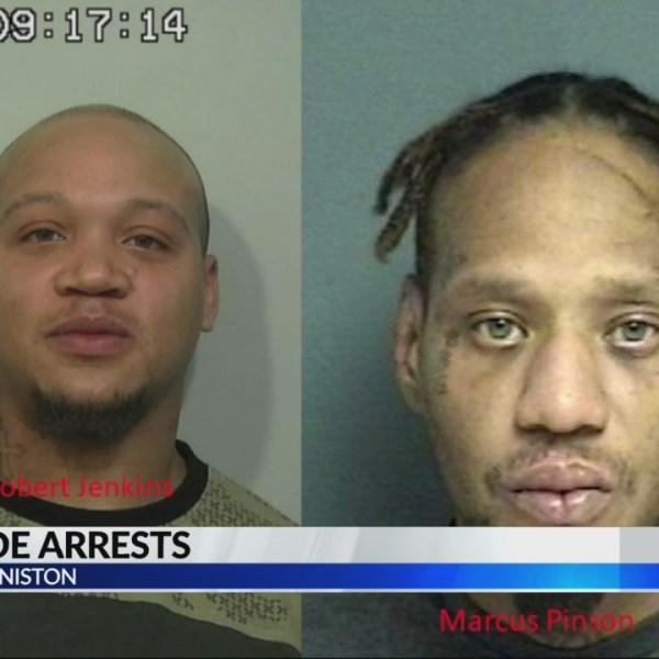 Homicide arrest in Anniston