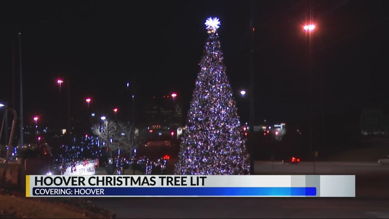 Hoover Christmas Tree Lit