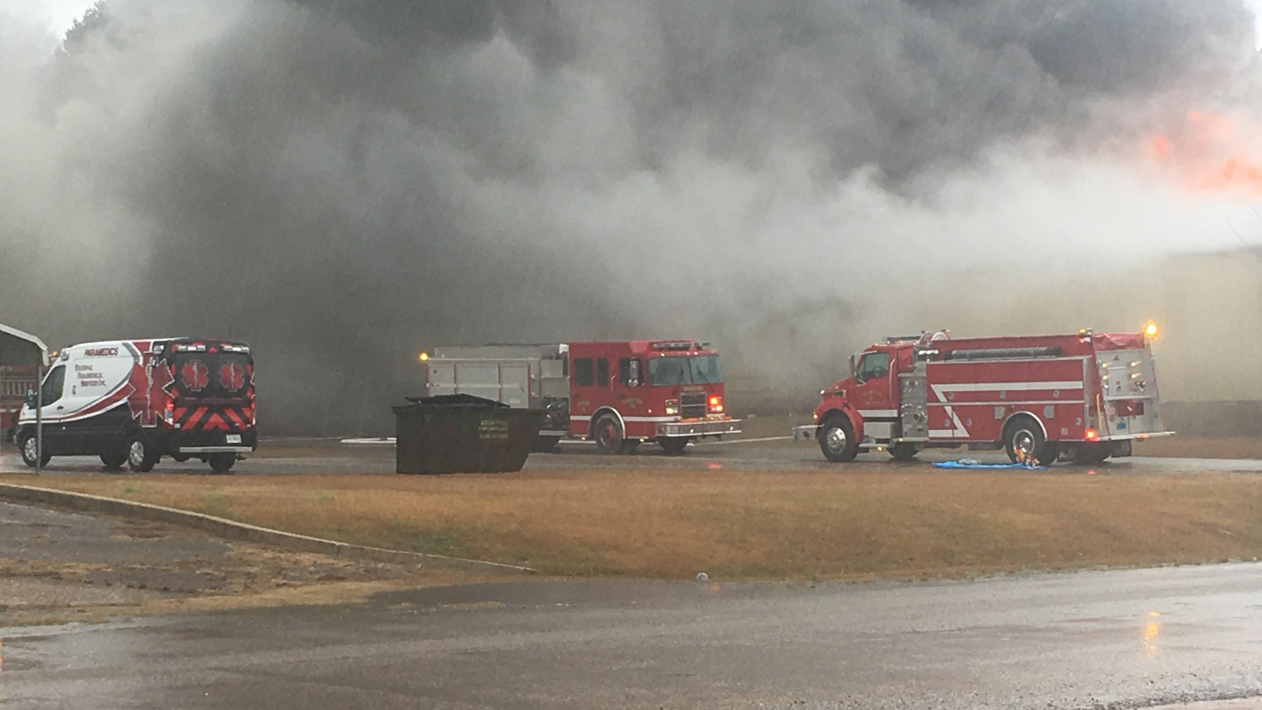 Carbon Hill fire trucks