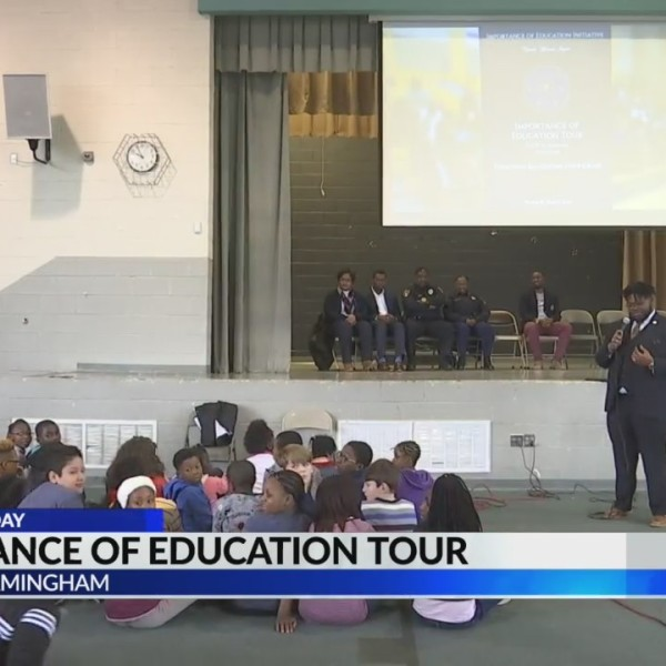 'Importance of Education Tour' kicks off at Birmingham City Schools