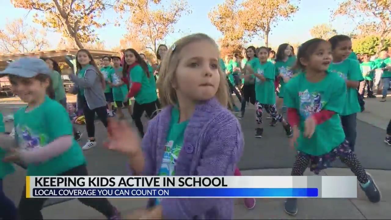 Keeping Kids Active in School