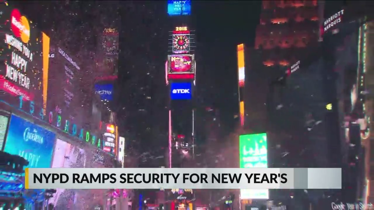 NYPD is ready for New Year's Eve festivities