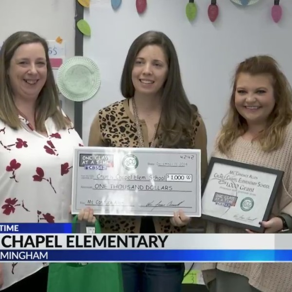 One Class at a Time: Crumly Chapel Elementary
