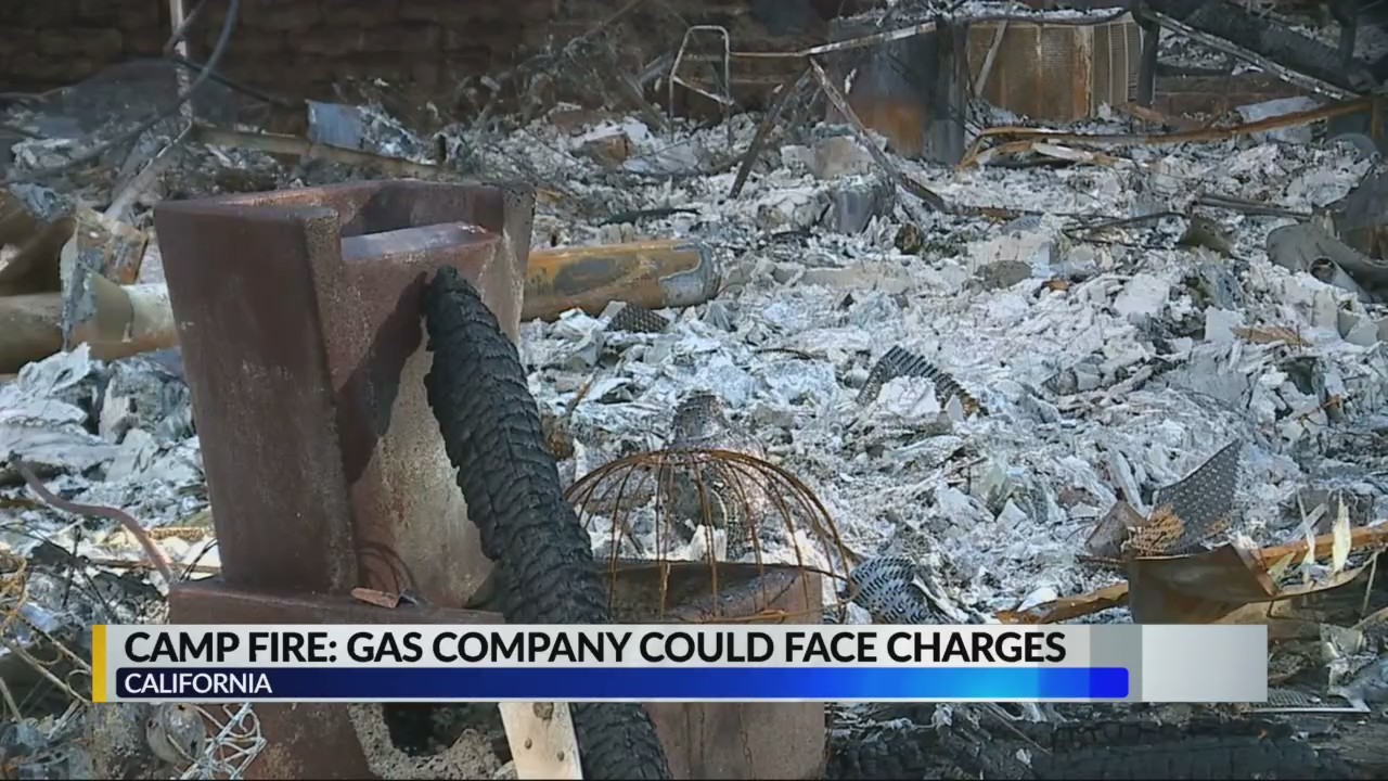PG&E could be charged for Camp Fire