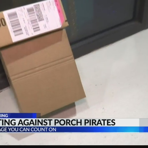 Police warn of holiday 'porch pirates'