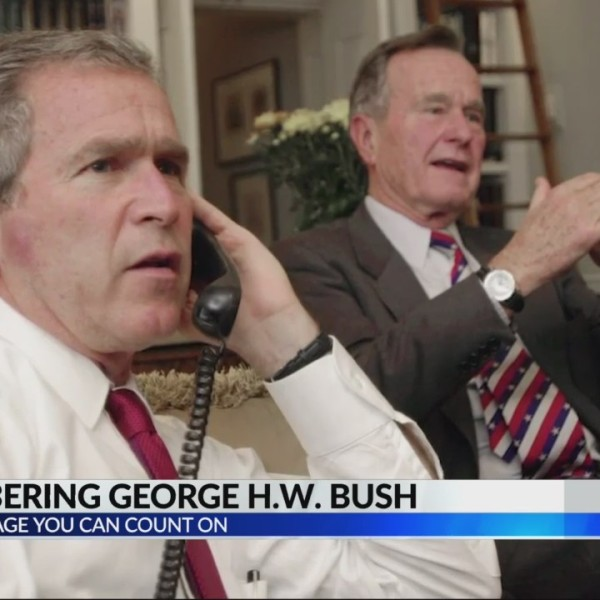 Remembering George H.W Bush