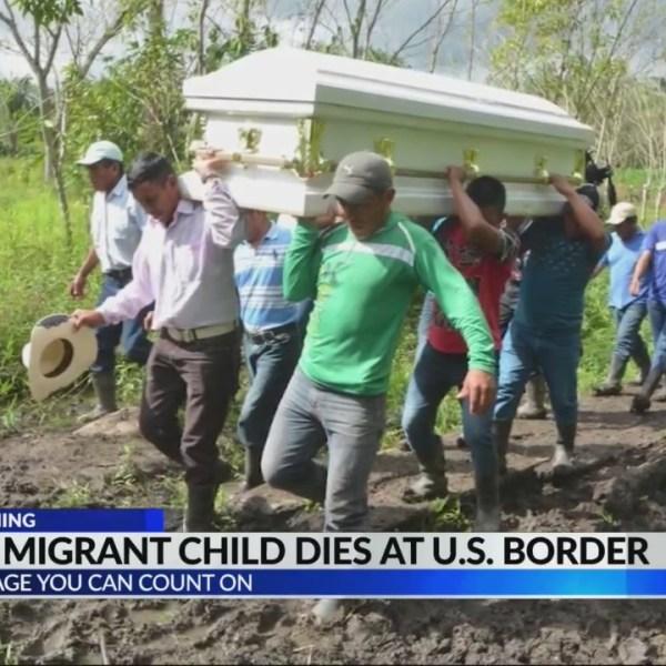 Second child dies at U.S. border