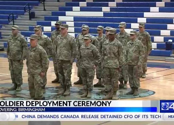 Soldiers Deployment Ceremony