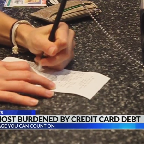 States most burdened by credit card debt