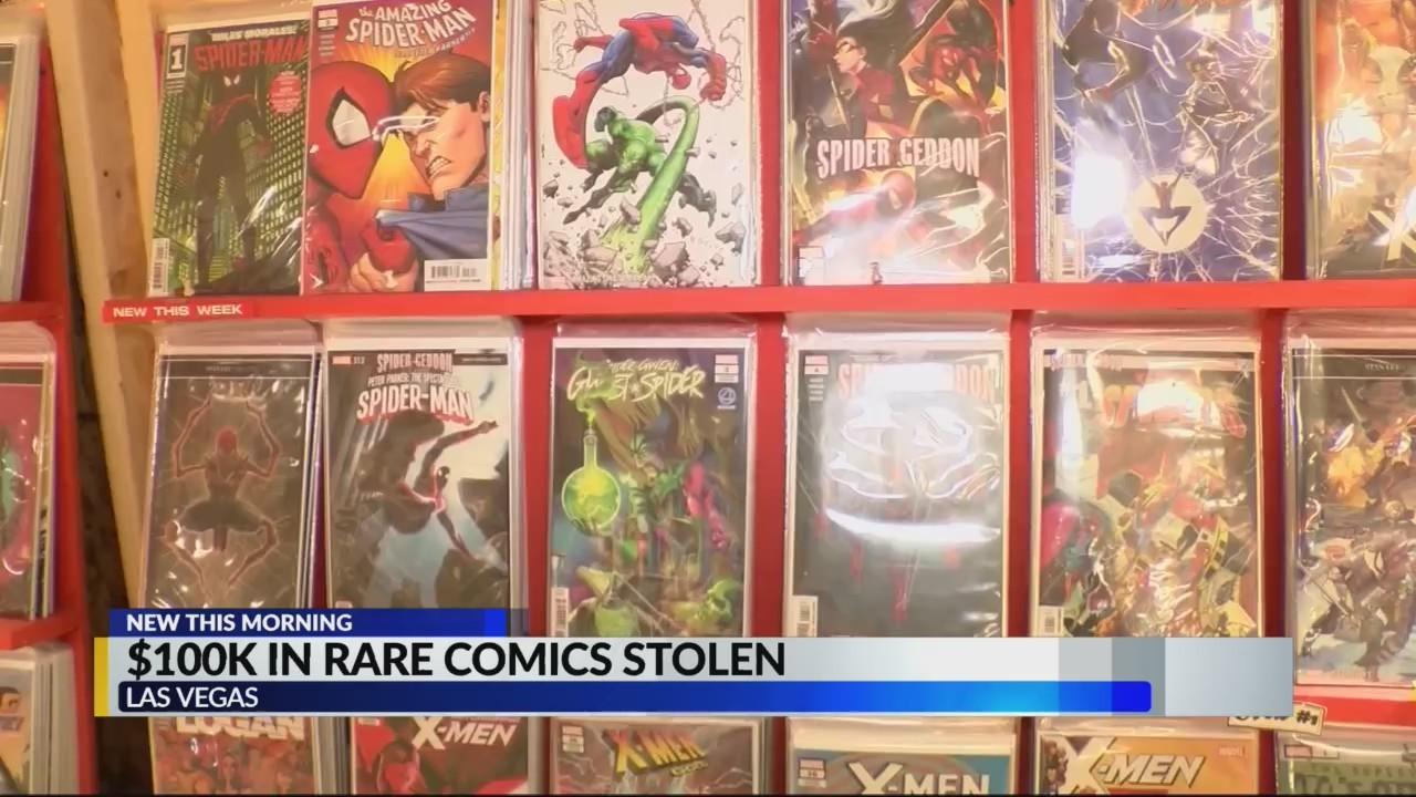 $100k in Rare Comics stolen