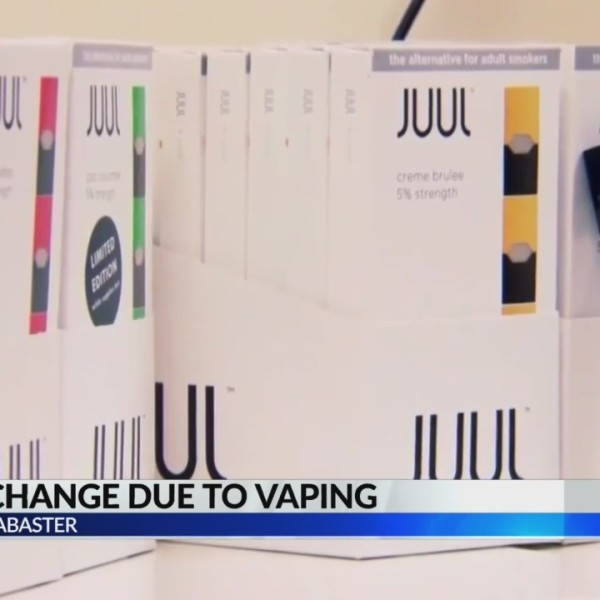 Alabaster school policy change due to vaping