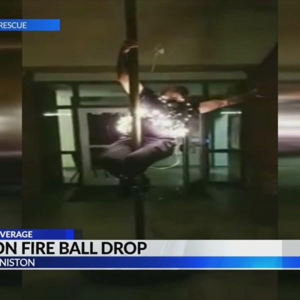 Anniston Fire Ball Drop