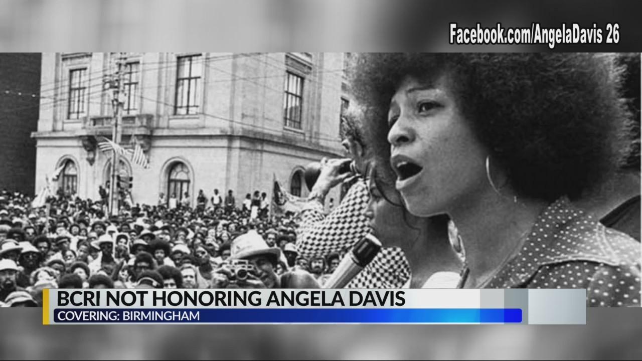 BCRI Not honoring Angela Davis