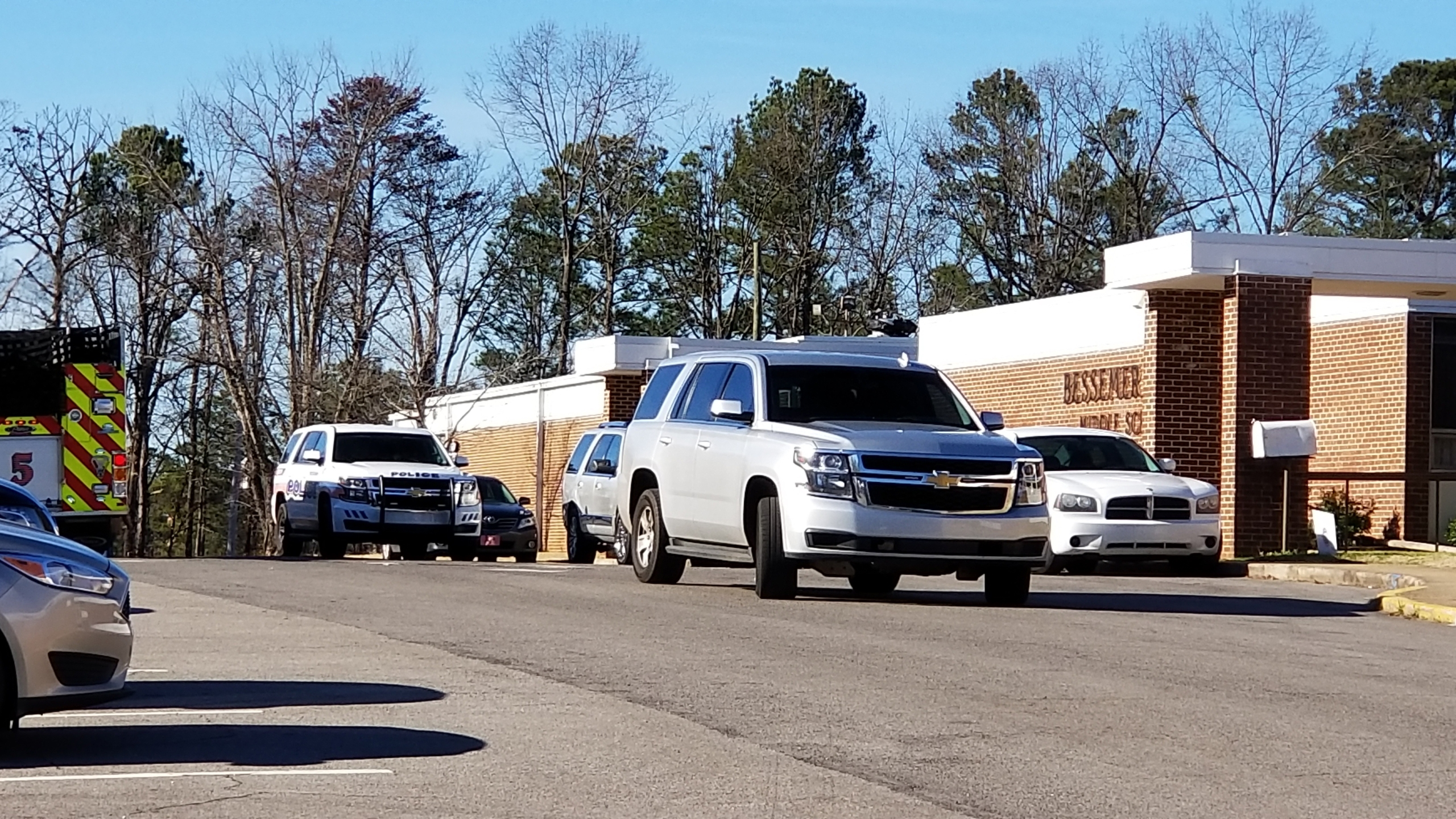 Bessemer City Middle School lockdown