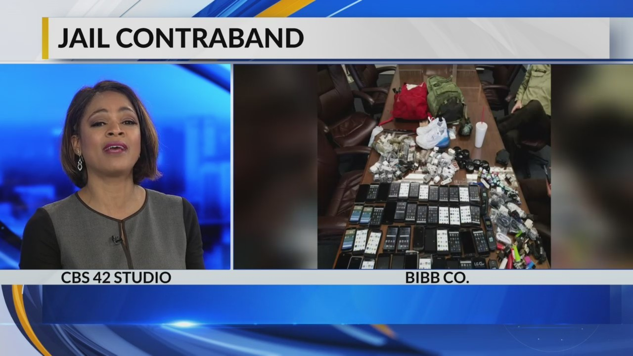 Bibb County busts contraband smuggling