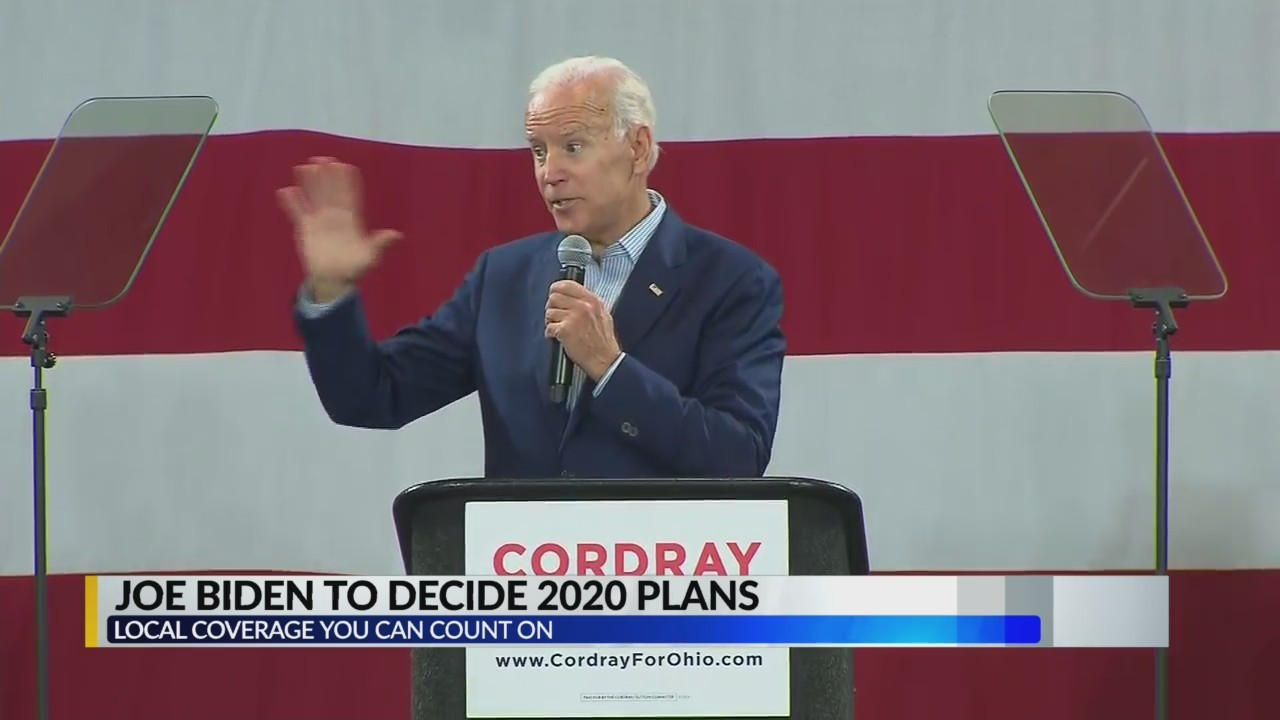 Biden considers throwing hat into presidential ring