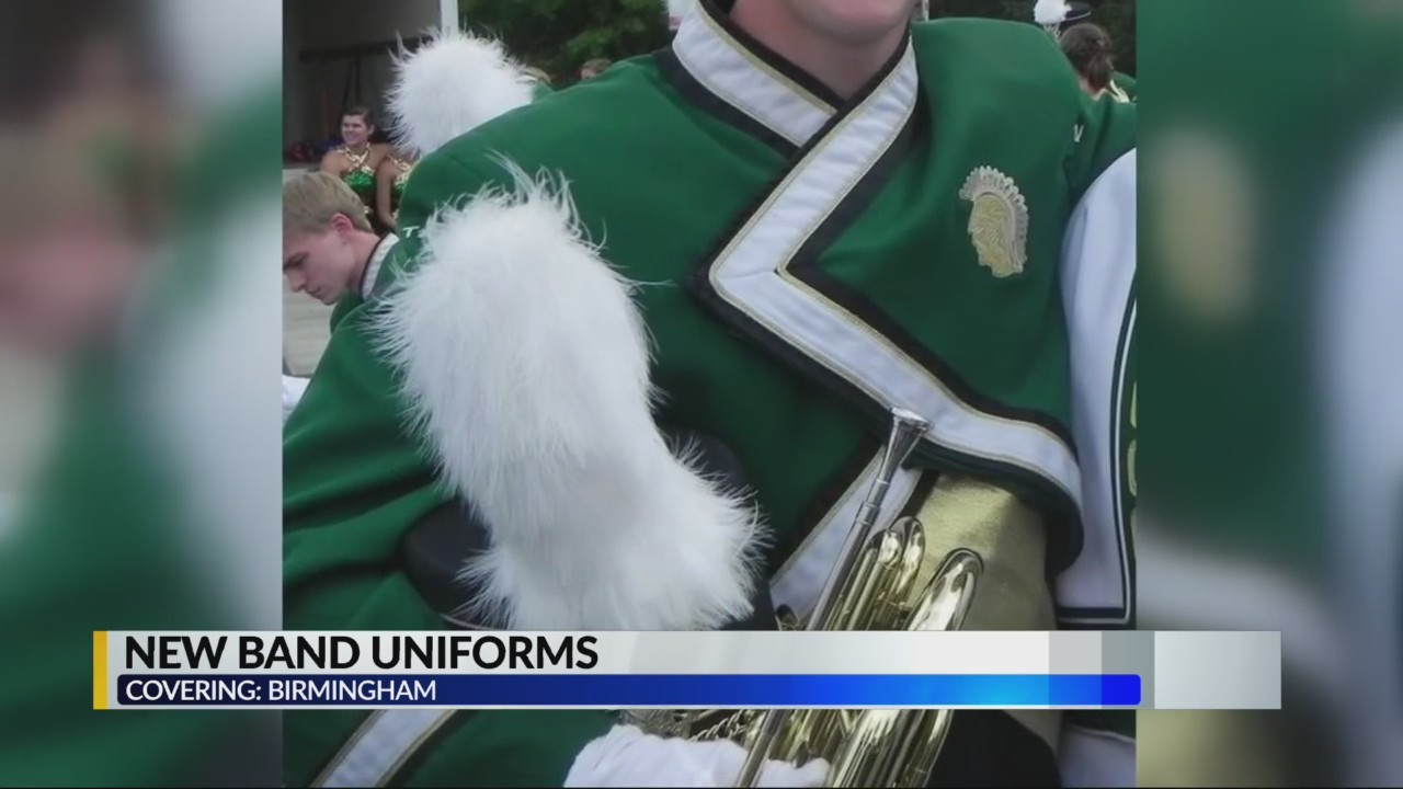 Birmingham High Schools finally get new band uniforms