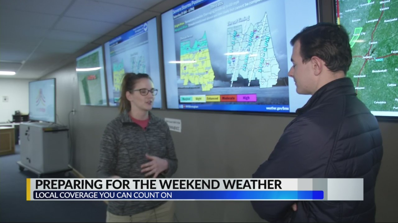 Birmingham, Jefferson County officials preparing for potentially severe weather